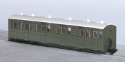 Peco GR-401U Composite Coach, Green Unlettered
